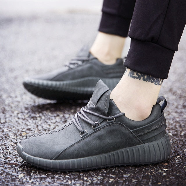 MSK50 Comfortable Faux Leather Sneakers