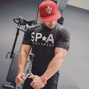 MGS5 Workout Slim Fit gym T-shirt