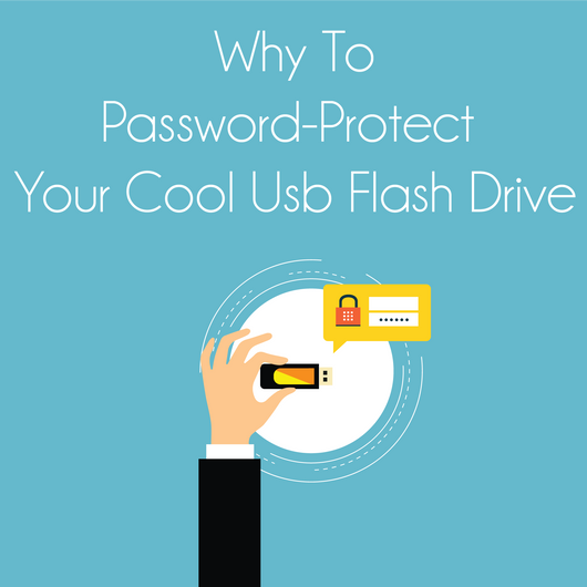 Why To Password-Protect Your Cool USB Flash Drive