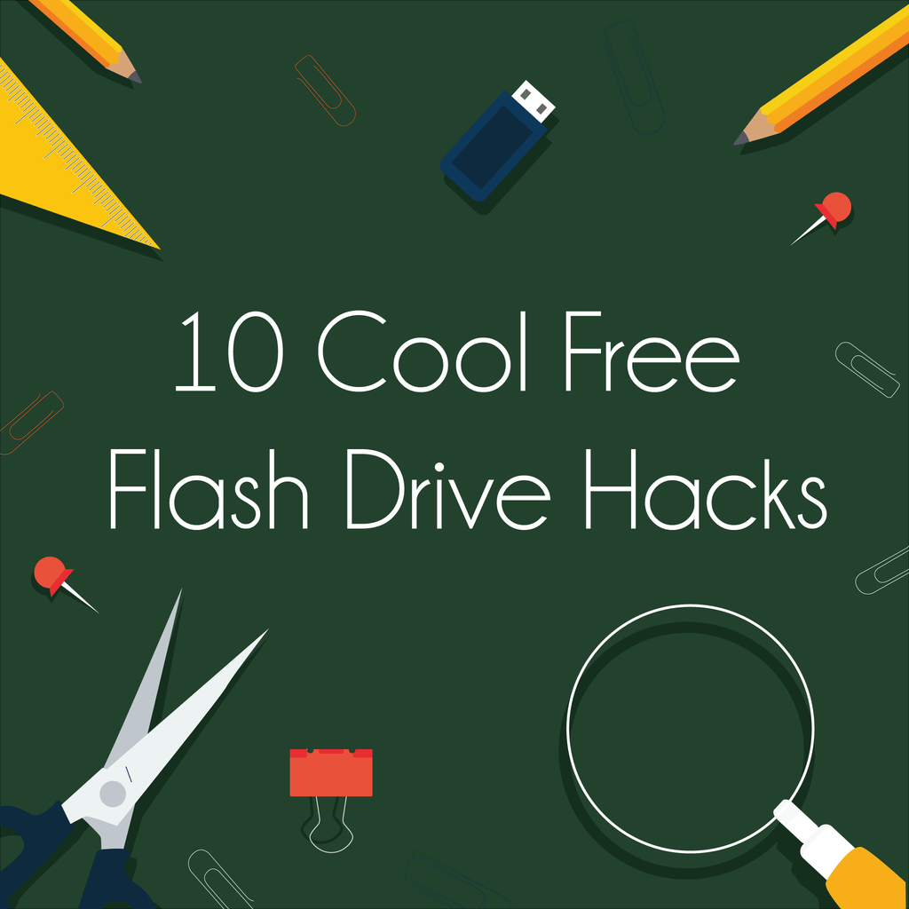 10 Cool Free Flash Drive Hacks