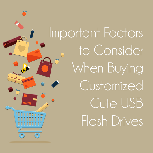 Important Factors to Consider When Buying Customized Cute Flash Drives