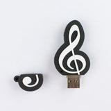 Treble Clef USB Flash Drive
