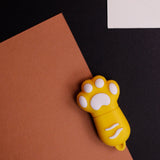Yellow Cat's Paw USB Flash Drive