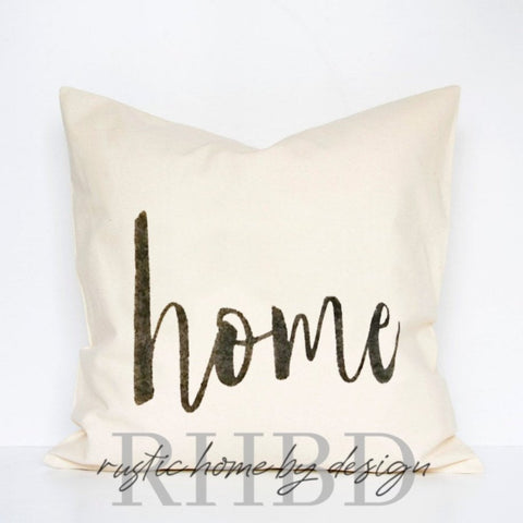 Home Modern Farmhouse Pillow Cover