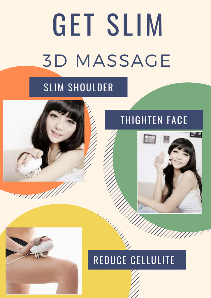 Become slim with 3D Cellulite Massage