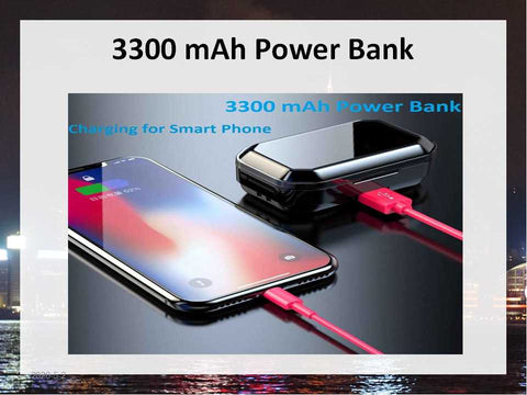 Wireless Earphone Power Bank | Bluesky Style Store