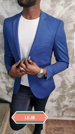 Special Blue European Blazer Slim Fit