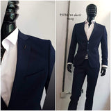 Very Nice Blue Slim Fit Suit