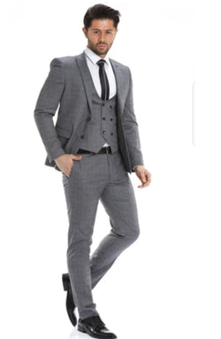 The perfect grey 3 pieces Suits