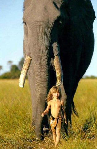 girl with wild animals -MissMeowni.com