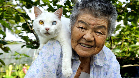 this lady and her cat -MissMeowni.com