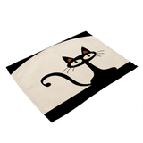 Le Chat Noir Dining Tables Place-mat- 7 Variants
