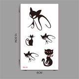 MissMeowni Accessories Black / OneSize Cat Vogue Tattoo
