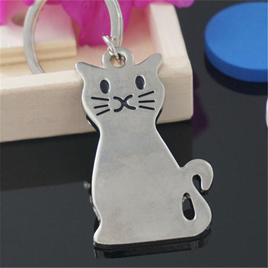 MissMeowni Accessories Kitty Cat Curves KeyChain