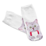 MissMeowni Apparels Cat in Spects Socks