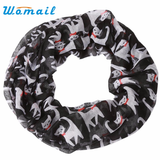 MissMeowni Apparels OneSize / Black Cats in Red Bow-tie Scarf