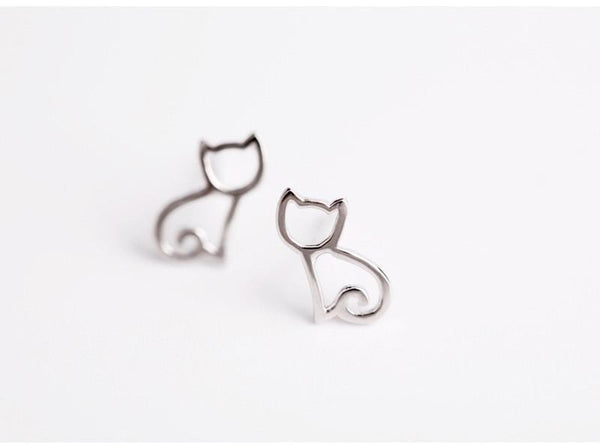 MissMeowni Earring Cat Body Frame Earring