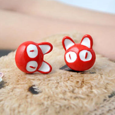 MissMeowni Earring Red / Onesize Big Eyes Cats Earring-Red