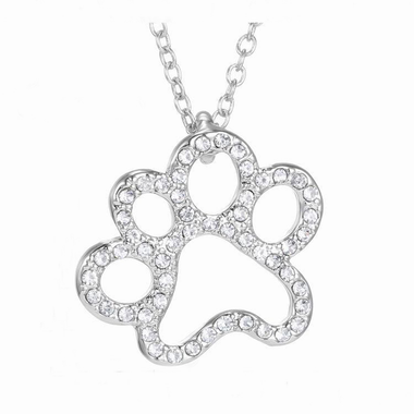 MissMeowni Necklace OneSize / Silver Cat Paws Necklace - Silver