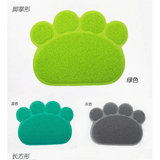 MissMeowni Only for Cats Cute Cat Paw Shape Litter Mats