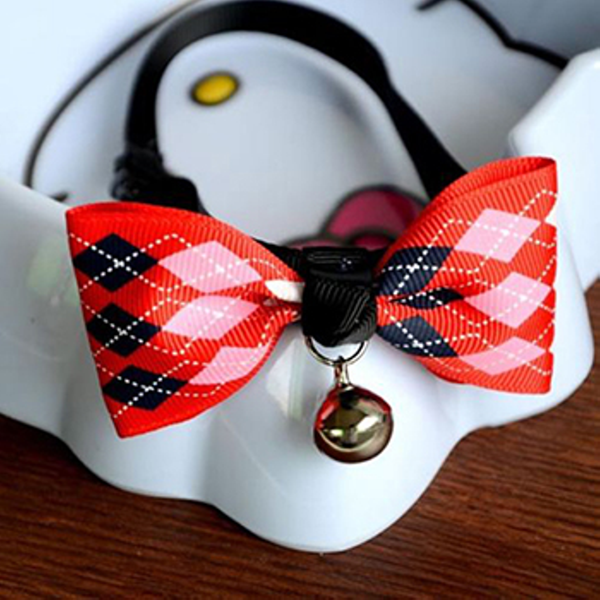 MissMeowni Only for Cats OneSize / Red Cats Bow Tie