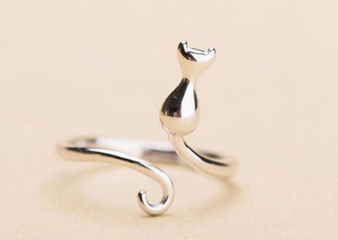Wiggling Cat Ring-Ring-MissMeowni