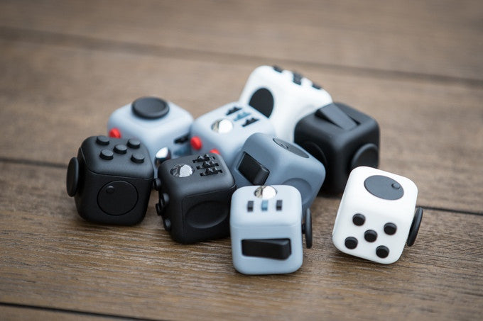 Fidget Cube - Finally a tool that makes fidgeting look cool!