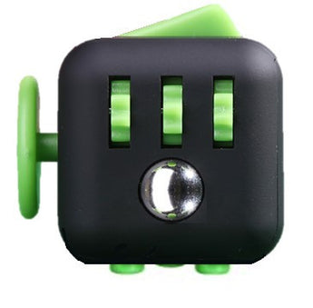 Fidget Cube Black & Green