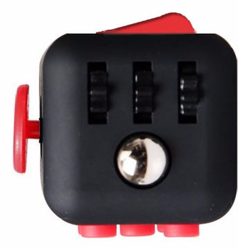 Fidget Cube Black & Red