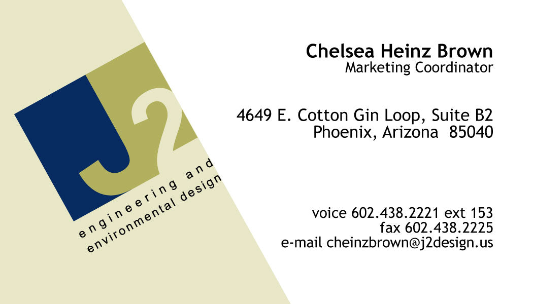 Commercial Business Cards Jponte Printing