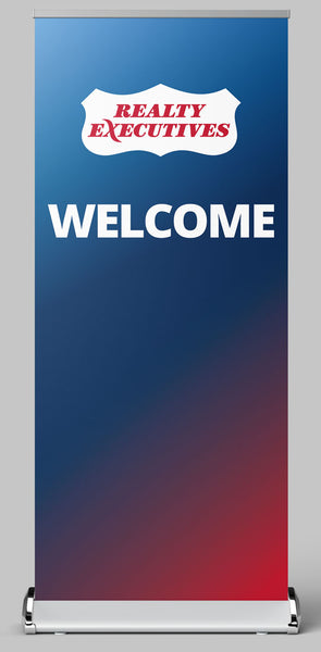 Welcome Banner Stand
