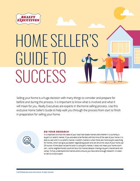 Home Seller's Guide to Success - Page 1
