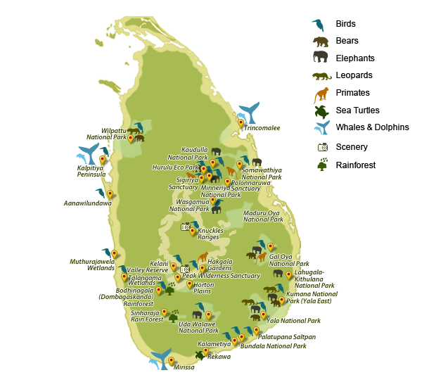 National Parks in Sri Lanka