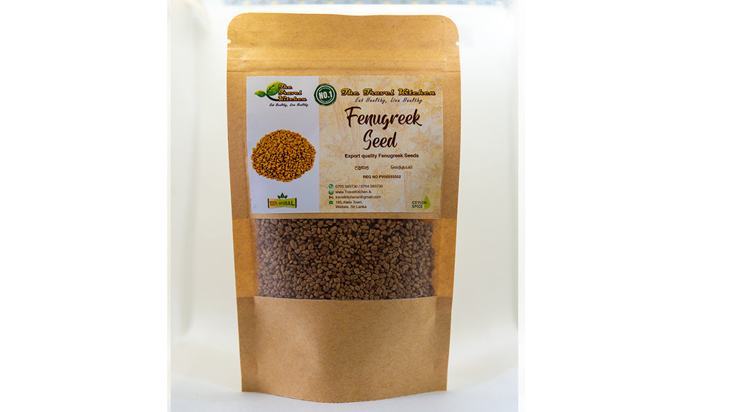 Premium Quality Ceylon Fenugreek Seeds (Whole)