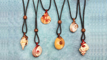 Load image into Gallery viewer, Handmade Seashell Pendants