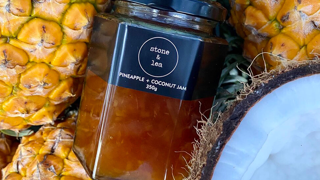 Pineapple Coconut Jam