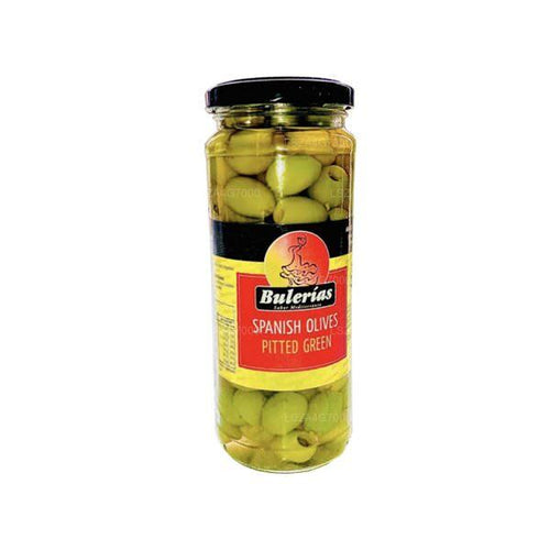 Bulerias Green Pitted Olives
