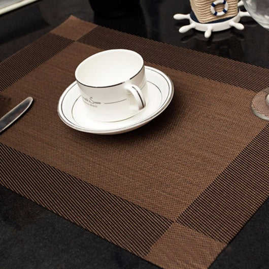 conference room table protectors | executive placemats – modern