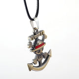 Straw Hat Pirates Anchor Necklace