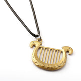 Goddess's Harp Necklace