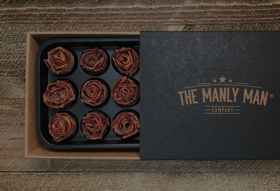 4 Animated GIFs of Bacon Roses