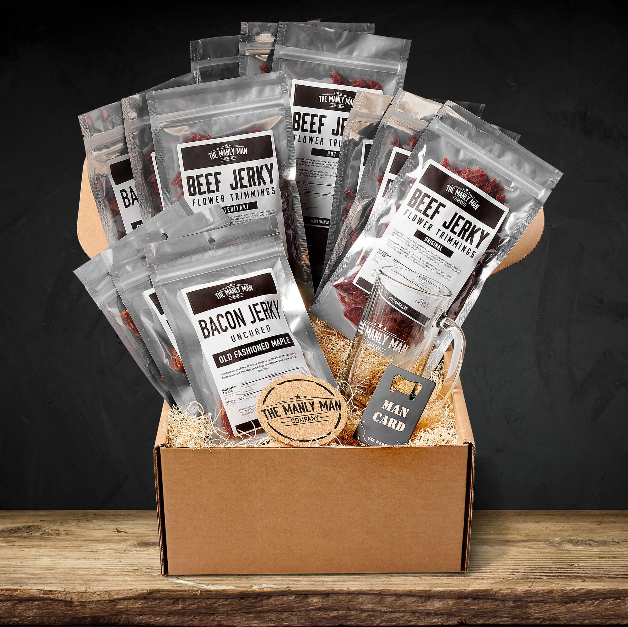 Beef Jerky Gift Baskets for Men