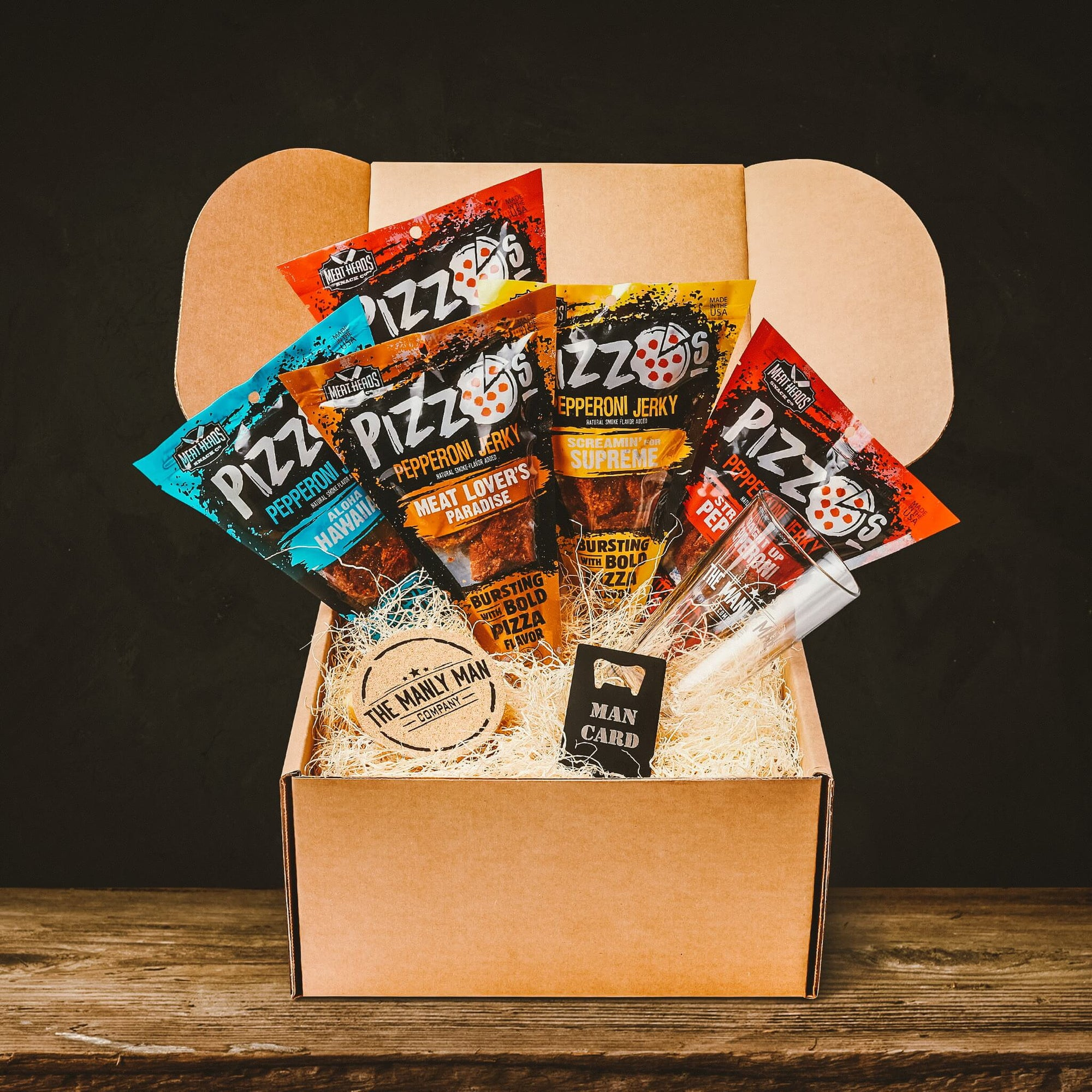 Manly Junk Food Gift Baskets for Him