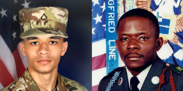 Composite of PFC Andrew Cashe and SFC Alwyn Cashe