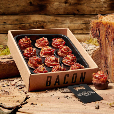 BACON ROSES + Dark Chocolate (Father's Day Reservation) Full Dozen