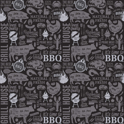 BBQ Scented Gift Wrapping Paper