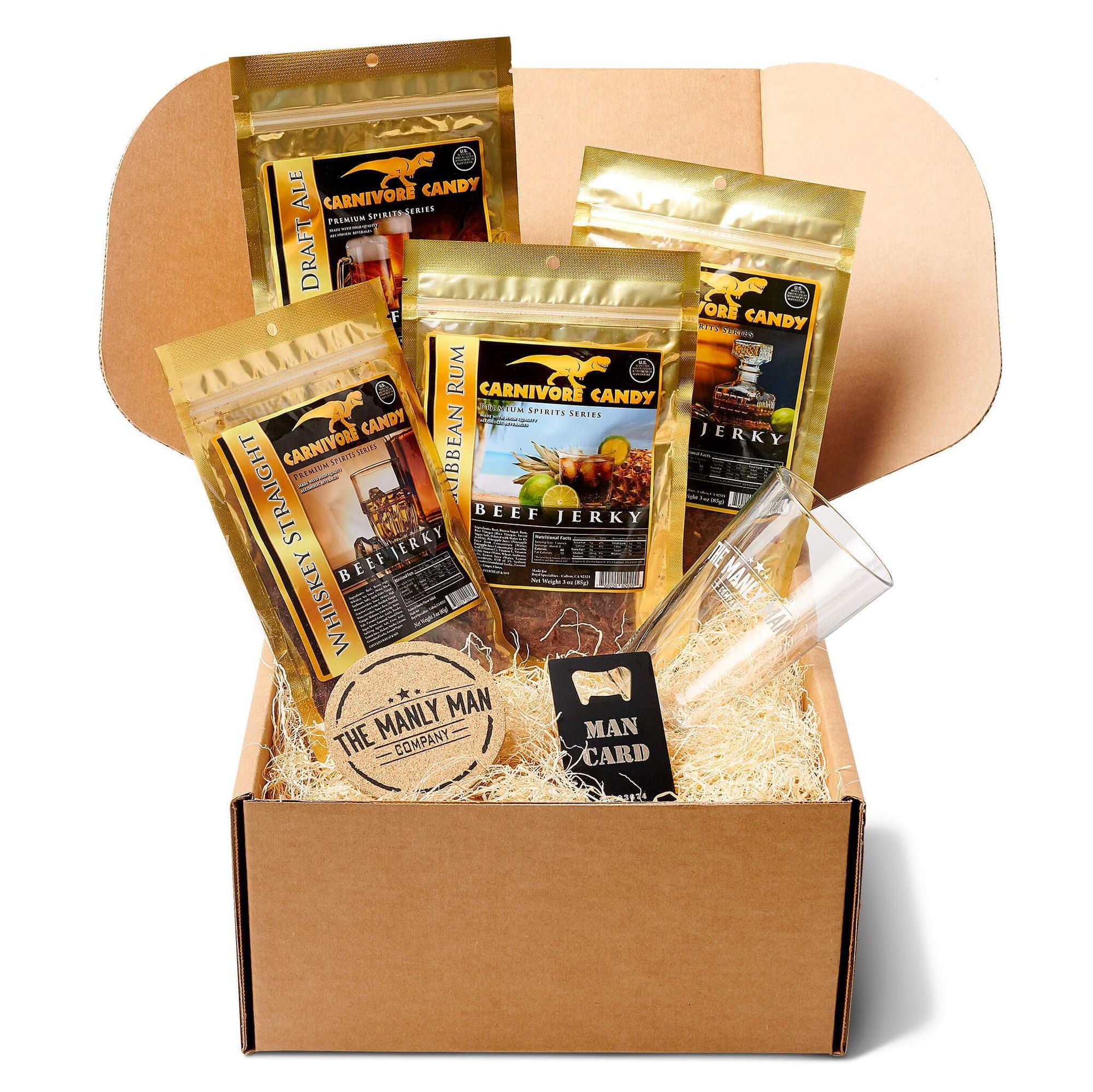 Booze Infused Jerky Gift Box Default