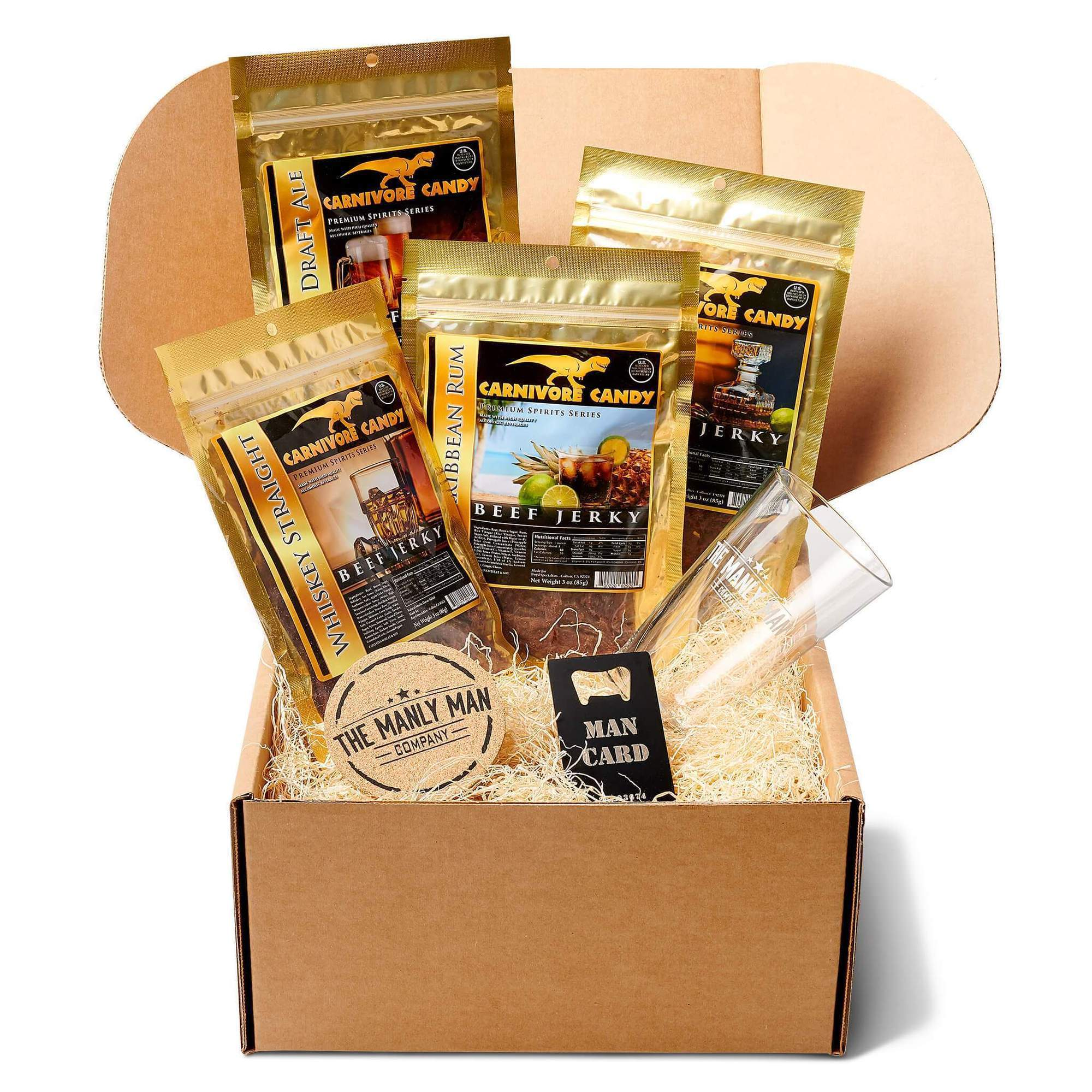 Booze Infused Jerky Gift Box (Father's Day Reservation) Default