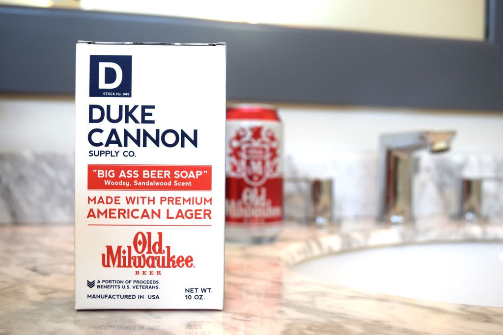 Duke Cannon Supply Co. Big Ass Brick of Manly Beer Soap