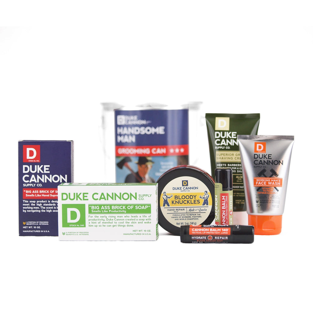 Duke Cannon Supply Co. The Handsome Man Grooming Can